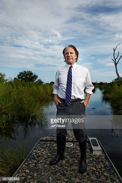 Historian author and head of the nonprofit group Restore Louisiana Now John Barry is photographed for New York Times Magazine on August 29 2014 in...