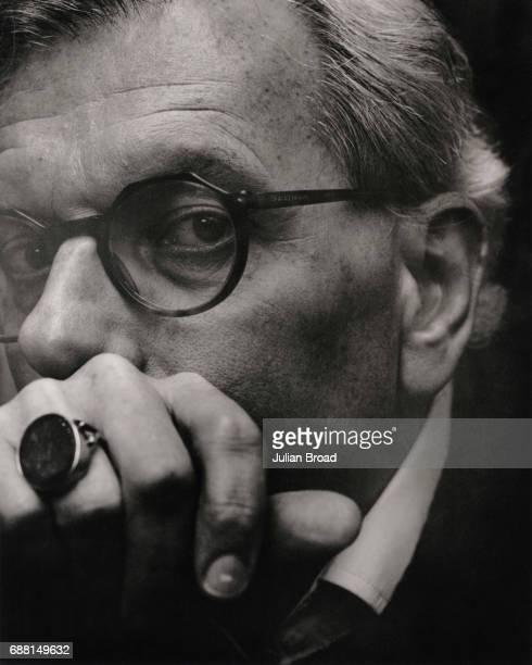 Historian David Starkey is photographed in London England