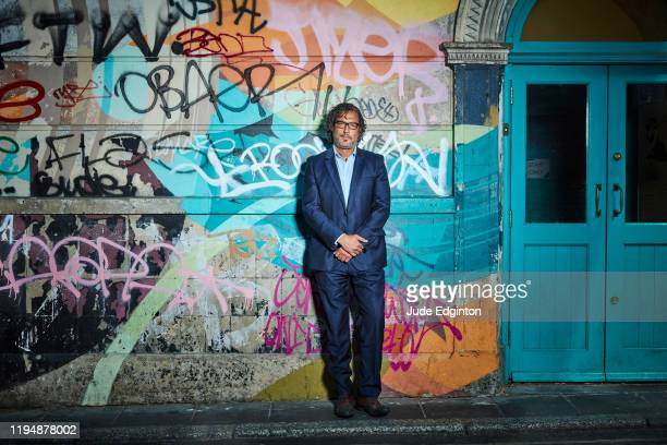 Historian writer broadcaster presenter and filmmaker David Olusoga is photographed for the Times on May 21 2019 in London England