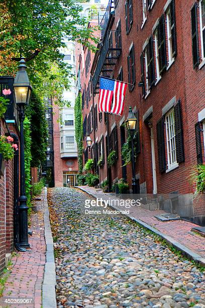Historic Acorn Street, Beacon Hill, Boston