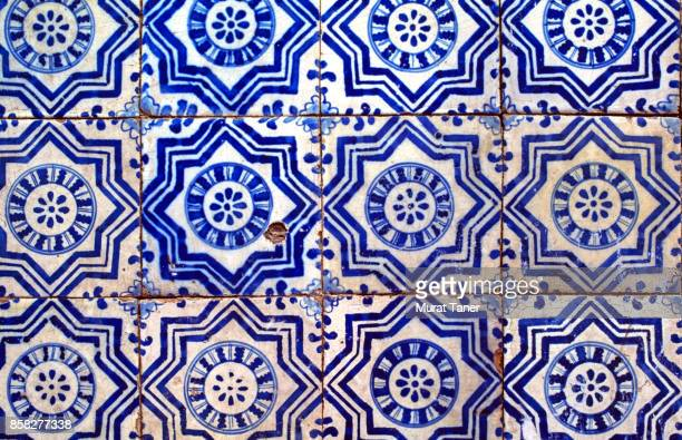 Historic Azulejos tiles in Lisbon