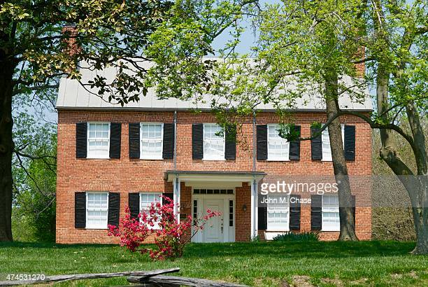 historic blenheim - fairfax county virginia stock photos and pictures