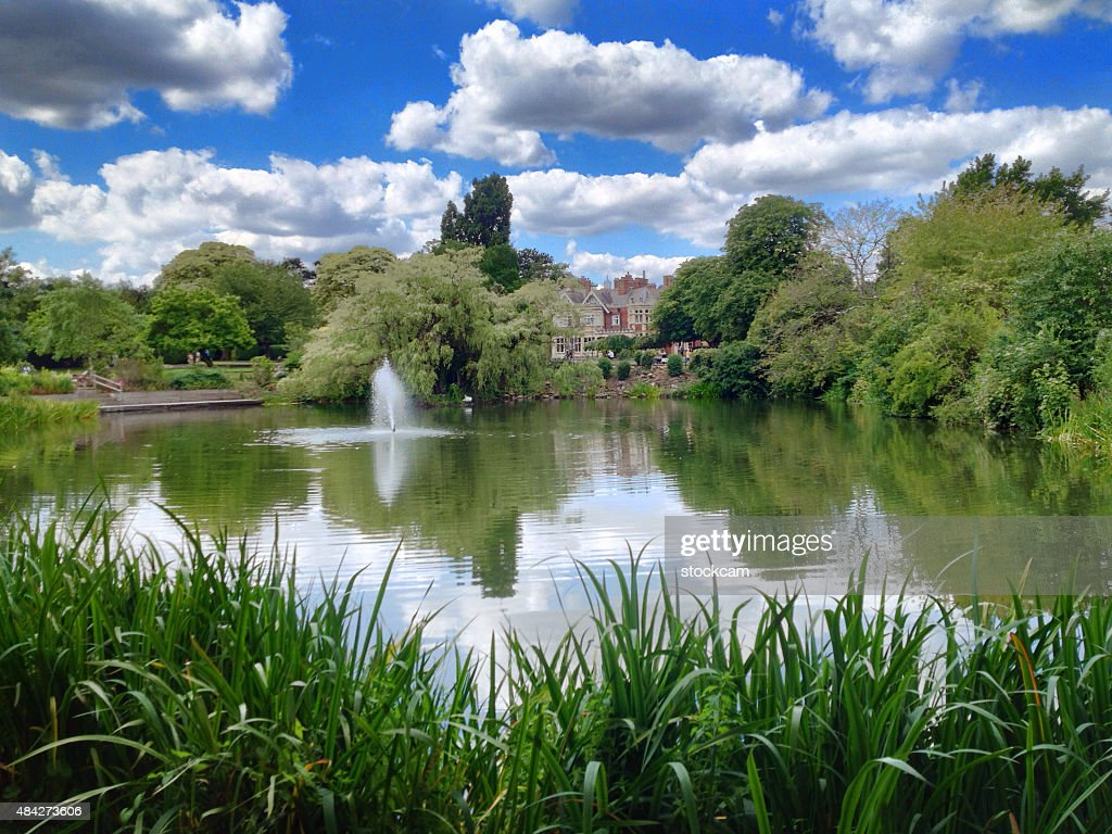 Historic Bletchley Park, World War II memorial, England : Stock Photo