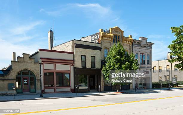 CONTENT] Historic buildings in downtown Sheboygan WI
