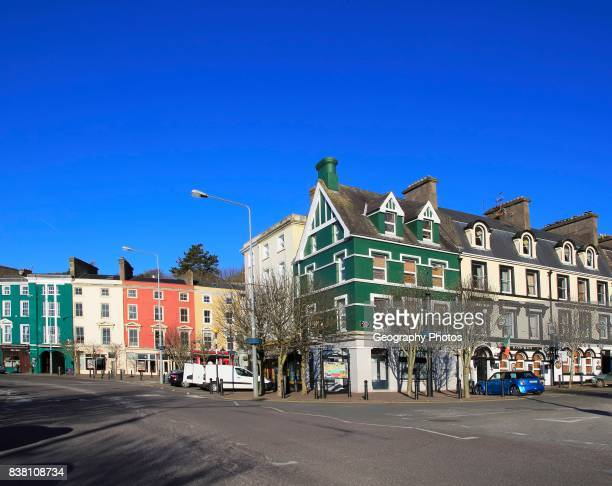 Historic buildings in town center of Cobh County Cork Ireland