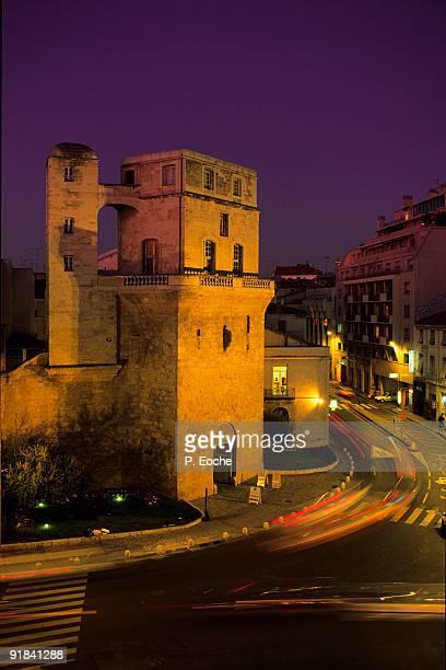 Historic buildings, Montpellier, France. Tour de la Babote