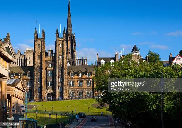 Historic Buildings of Edinburgh, Scotland, United Kingdom.