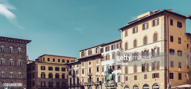 historic buildings of florence - florence italy stock pictures, royalty-free photos & images