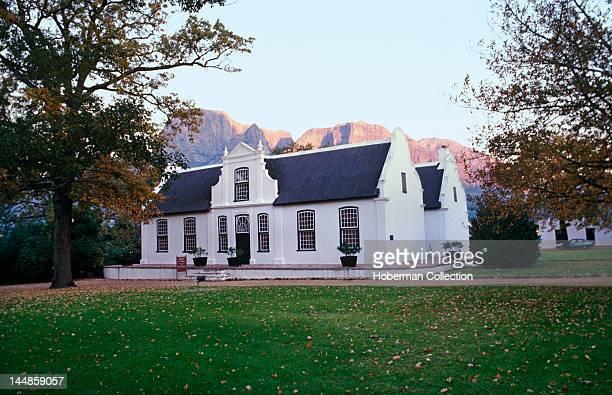 Historic Cape Dutch homestead Stellenbosch Toy Miniature Museum Stellenbosch Western Cape