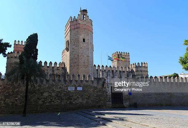 Historic castle Castillo de San Marcos Puerto de Santa Maria Cadiz province Spain