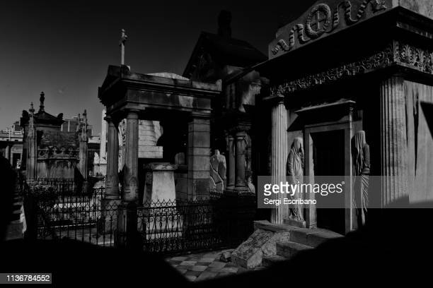 Historic cemetery of the city of Barcelona