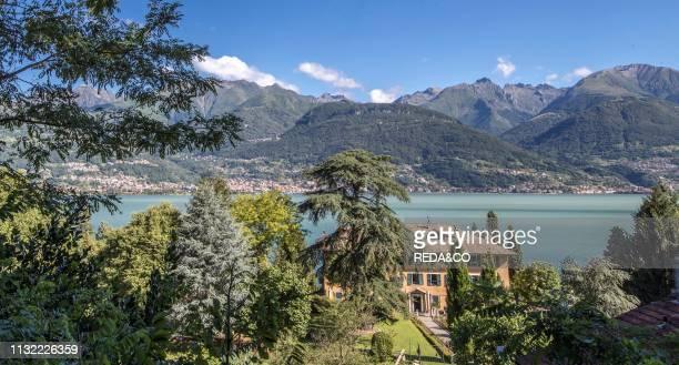 Historic Center of Piona Como Lake Lombardy Italy Europe