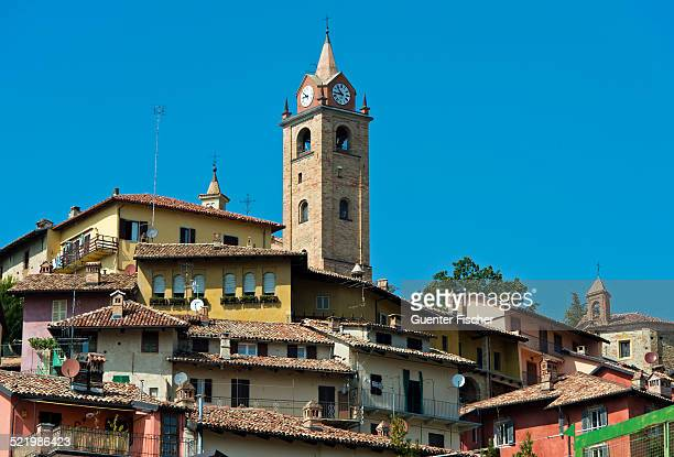 Historic centre of Monforte d'Alba, Province of Cuneo, Piedmont, Italy