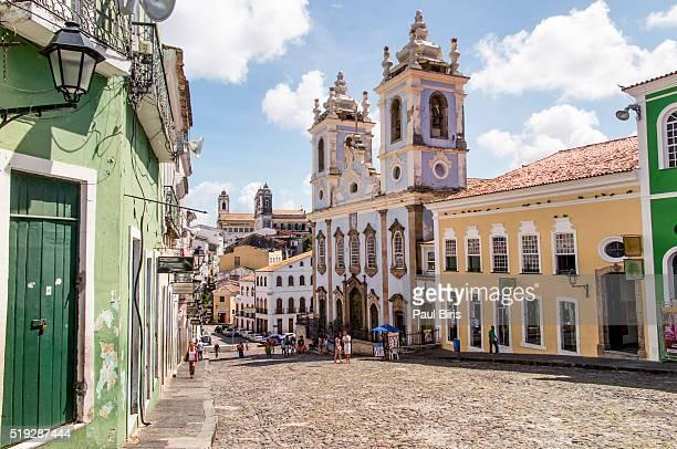 Historic centre , Pelourinho, Salvador, Bahia, Brazil