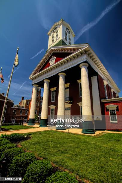 historic charles town, west virginia - protohistory_of_west_virginia stock pictures, royalty-free photos & images