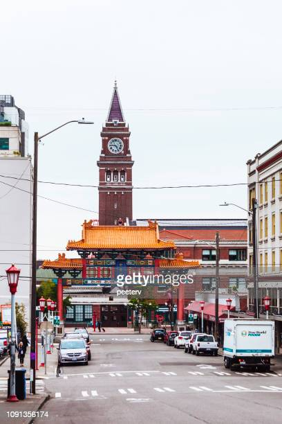 Historic Chinatown Gate in Seattle