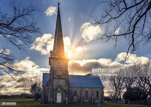 Historic church of Hobart