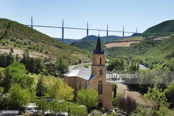 Historic church of Saint Christopher in south of France