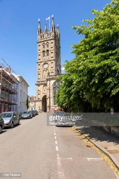 Historic church of Saint Mary, Warwick, Warwickshire, England, UK.