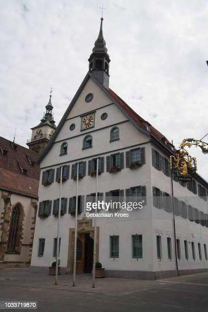 Historic City Hall of Bad Cannstatt, Stuttgart, Germany