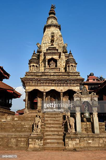 historic city of bhaktapur, nepal - バクタプル ストックフォトと画像