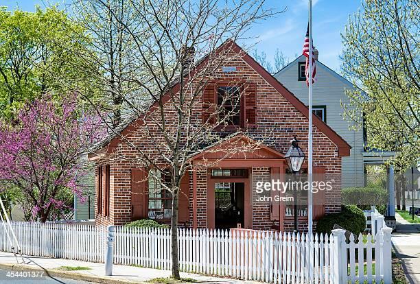 Historic Clara Barton School Founder of the American Red Cross