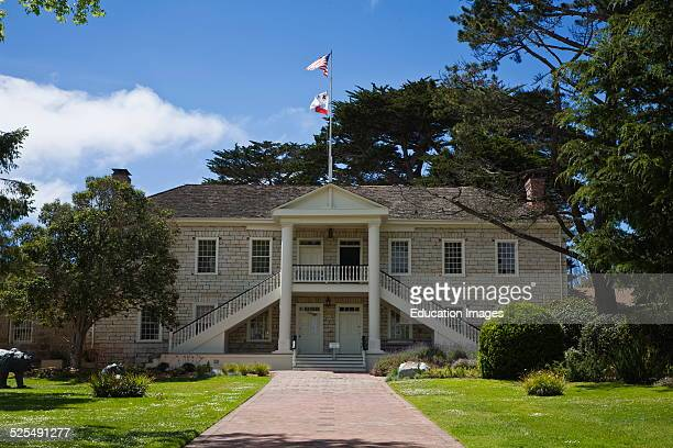 Historic Colton Hall Was Built In 1940 By Walter Colton The First Mayor Of Monterey California