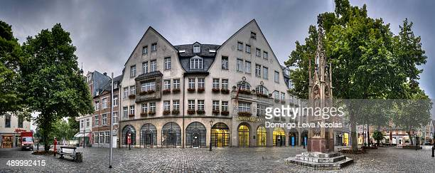 CONTENT] Historic commercial building Muensterplatz square Sparkasse Aachen savings bank Aachen North RhineWestphalia Germany Europe