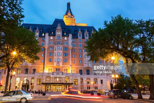 Historic Delta Bessborough hotel in Saskatoon
