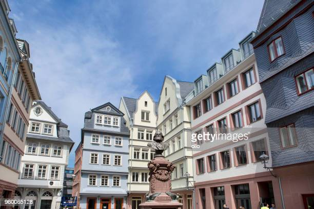 Historic district Altstadt Frankfurt - Dom-Roemer-project