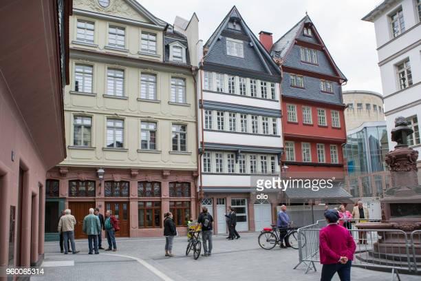 Historisches Viertel Altstadt Frankfurt - Dom-Römer-Projekt