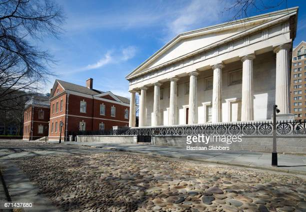 historic district in philadelphia, pa - basslabbers, bastiaan slabbers stock pictures, royalty-free photos & images