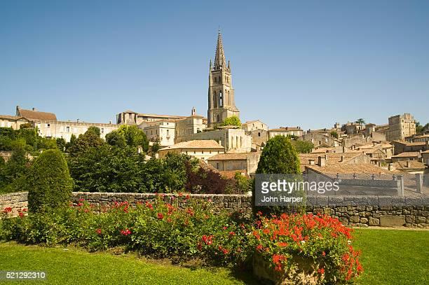 Historic district of St.-Emilion in France's Bordeaux region