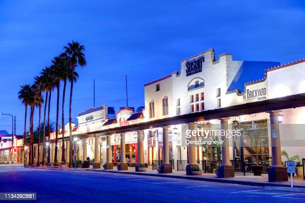 historic downtown chandler, arizona - arizona stock pictures, royalty-free photos & images