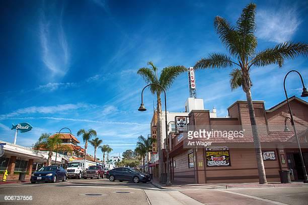 Historic Downtown Pismo Beach California