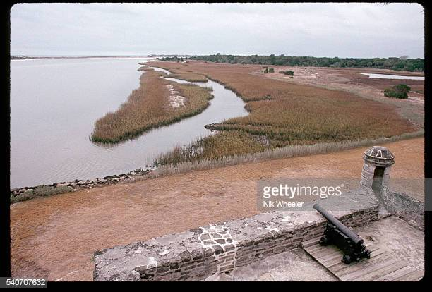 Historic Fort Matanzas still guards the Florida coast south of St. Augustine, after its construction as an outpost of Castillo de San Marcos in 1742....
