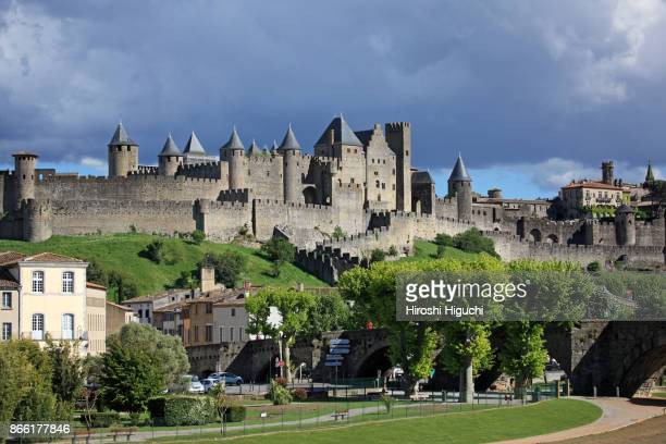 Historic Fortification City of Carcassonne, UNESCO World Heritage Site,  Languedoc-Roussillon, France