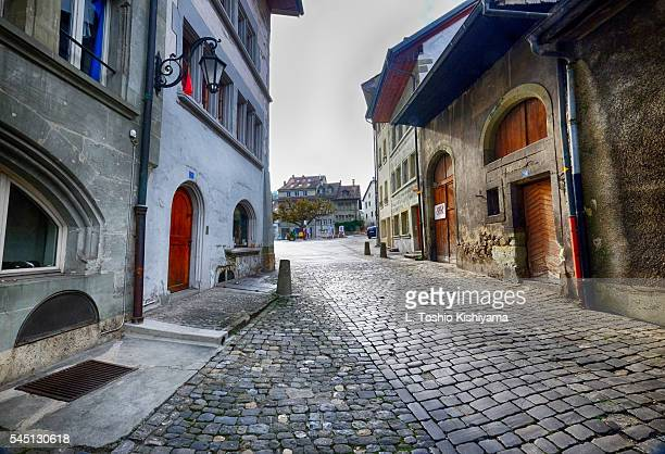 Historic Fribourg, Switzerland