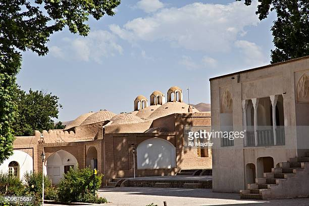 Historic garden in Mahan, Iran