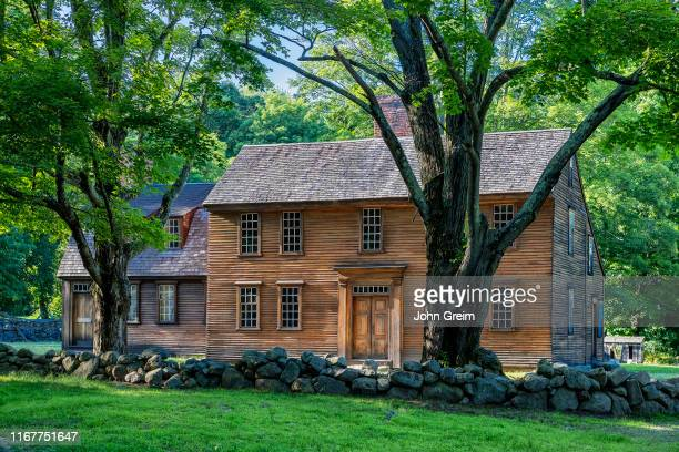 Historic Hartwell Tavern on the Battle Road Trail Minute Man National Historical Park