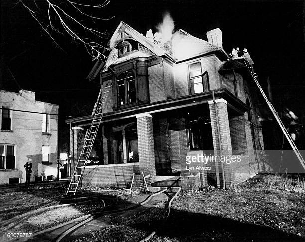 NOV 27 1977 NOV 28 1977 Historic House Damaged By Fires Denver firemen battle fires which caused heavy damage to a twostory house at 1731 Emerson St...