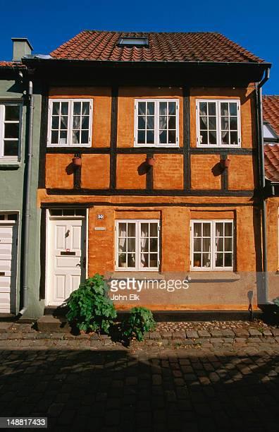 Historic house facade.