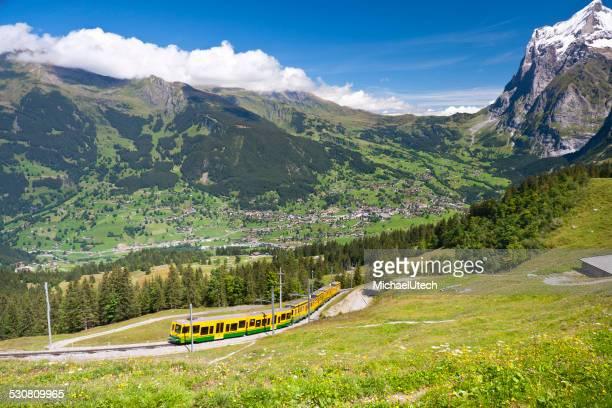 Historique Jungfraubahn, Alpes suisses