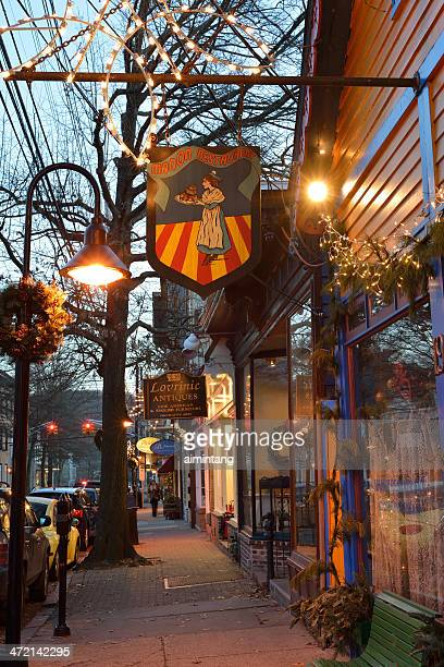 Historic Lambertville in New Jersey