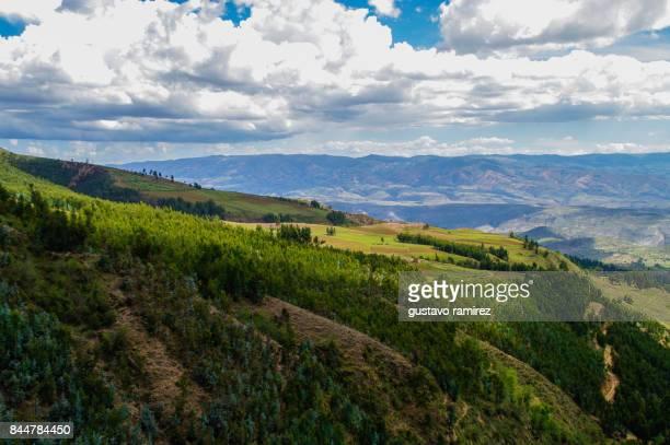 Historic landscape of quinua