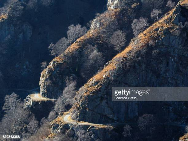 Historic Military Road Of Mount Morissolo