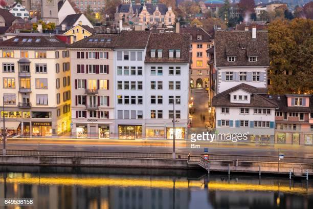 Historic Old City Center, Zurich, Switzerland