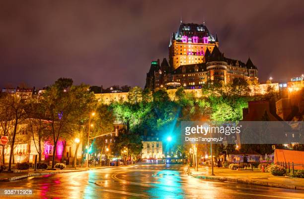 historic old quebec - old quebec stock pictures, royalty-free photos & images