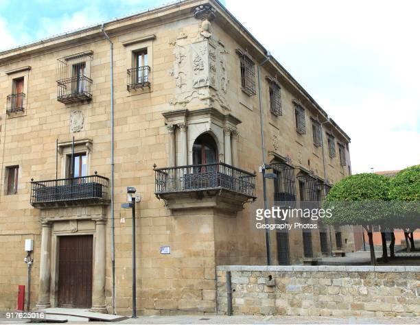 Historic palace mansion Casa del Doctor Trujillo Plasencia Caceres province Extremadura Spain