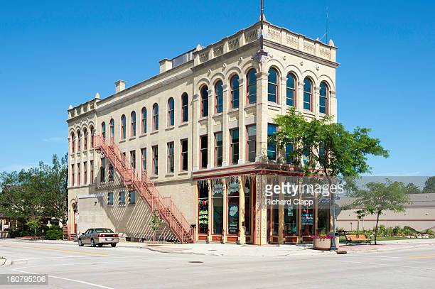 CONTENT] Historic retail commercial and apartment building in downtown Sheboygan WI